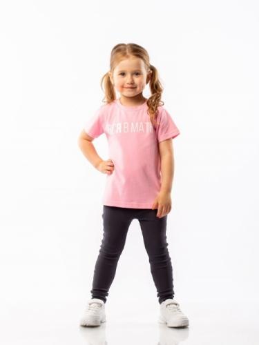 Футболка для девочки, размер 92-98, розовый Bodo 4-113U