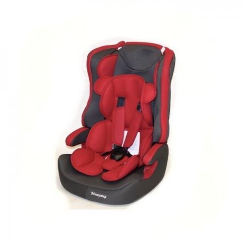 Автокресло Teddy Bear LB 513 RF 1/2/3 17 red/black dot с вкладышем