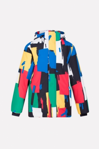 Куртка для мальчика Crockid ВК 36042/н/1 ГР размер 128-134