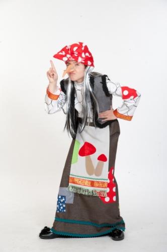 Карнавальный костюм Баба Яга, 9-10 лет