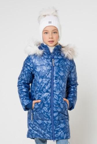 Куртка для девочки Crockid ВКБ 38043/н/1 ГР размер 140-146