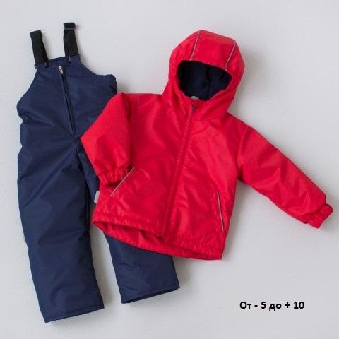 Комплект демисезонный «Краски детства» р. 30 (рост 104-110 см) куртка и штаны Крошкин дом