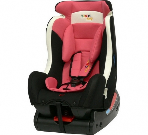 Автокресло Liko Baby LB718 C 0+/1/2 pink/black