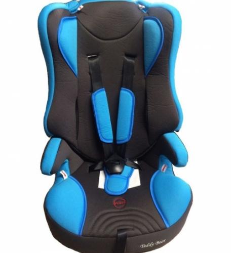 Автокресло Teddy Bear LB 513 R 1/2/3 09 A.L.blue/black
