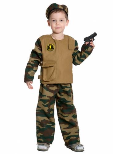Карнавальный костюм Спецназ, 9-10 лет