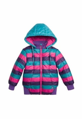 Куртка для девочек, размер 2, весна-осень, многоцветная Pelican GZWL3002/1