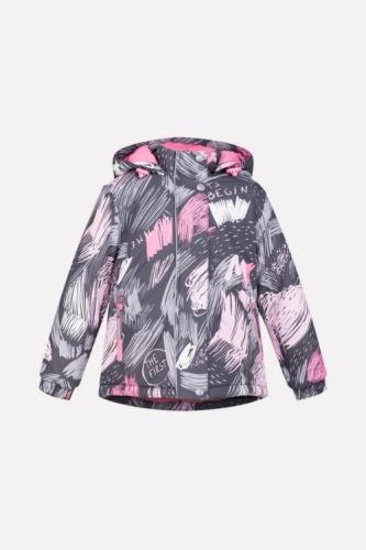 Куртка для девочки Crockid ВК 38033/н/1 ГР размер 86-92