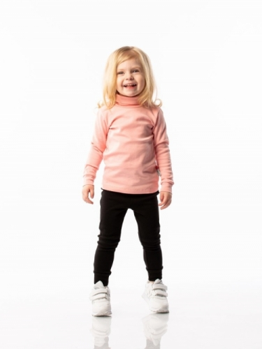 Водолазка для девочки BODO розовая, р. 32 (рост 110-116см), 7-75U