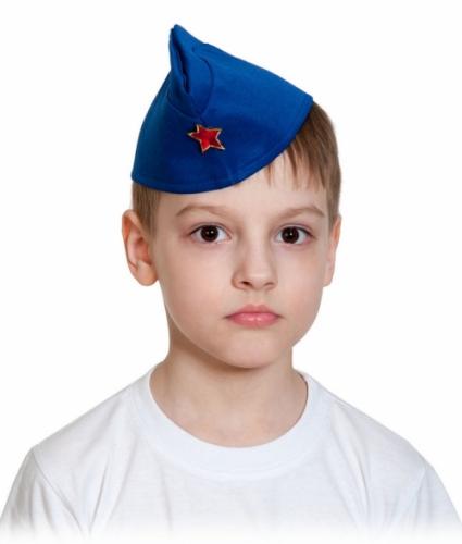 Пилотка Летчика (ВВС) карнавальная детская