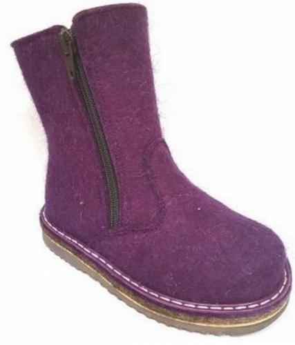Валенки Фома для девочки, артикул 336-218-17, размер 29 (185 мм) фиолетовый