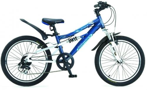 Велосипед Novatrack Action-JS200, синий, рама 20