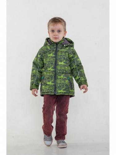 Куртка для мальчиков, размер 30, весна-осень, салатовая Modus L, Деми