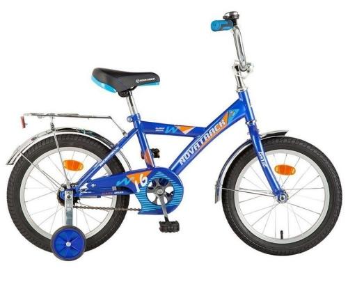 Велосипед Novatrack Twist, синий, рама 14
