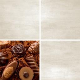 Декор Нефрит-керамика Акварель 04-01-1-14-03-15-130-5 20x20 Бежевый