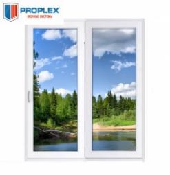 Окно раздвижное PROPLEX 2100x2000 двухстворчатое ЛР1000/ПГ1000 2 стеклопакет