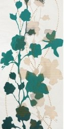 Декор Atem Gloria Sakura 1 TR зеленый 29.5х59.5