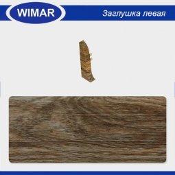 Заглушка торцевая левая Wimar 820 Дуб Асплен