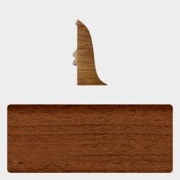Заглушка торцевая левая (блистер 4 шт.) Т-пласт 026 Орех Антик