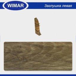 Заглушка торцевая левая Wimar 802 Дуб Термоли