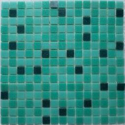 Мозаика Bonаparte Lotus зеленая матовая 32.7x32.7