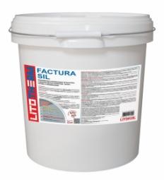 Штукатурка Litokol Litotherm Factura Sil  Шуба декоративная акриловая 1,5 мм Пастельные Тона