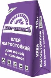Клей для плитки Печникъ жаростойкий 10кг