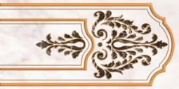 Декор Нефрит-керамика Пастораль 04-01-1-10-03-06-460-1 50x25 Бежевый