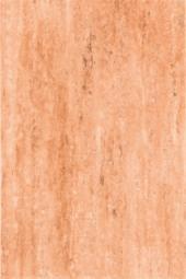 Плитка для стен Береза-керамика Травертино глянец коричневый 20х30