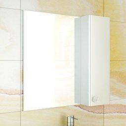Шкаф-зеркало Comforty Флоренция-70 белый