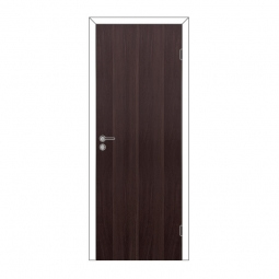 Дверное полотно Olovi глухое Венге 600х2000 с замком 2014