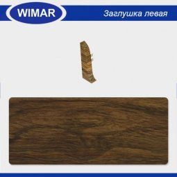 Заглушка торцевая левая Wimar 813 Дуб Дворцовый