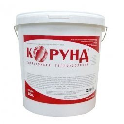 Жидкий утеплитель Корунд Классик краска сверхтонкая 20 л