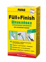 Шпатлевка Pufas №1 FullFinish spachtel заполняющая для внутренних работ 1 кг