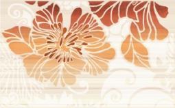 Декор Нефрит-керамика Кензо 04-01-1-09-03-25-075-2 40x25 Оранжевый