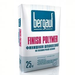 Шпатлевка Bergauf Finish Polymer финишная полимерная 25 кг