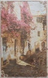 Декор Cracia Ceramica Palermo Beige Decor 05 25x40