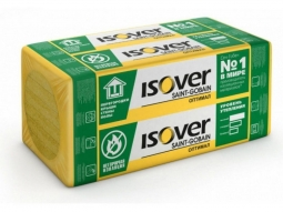Минераловатный утеплитель Isover Оптимал 30 1200х600х100 мм /4шт