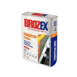 Штукатурка Brozex Универсам М-100 цементная универсальная 25 кг