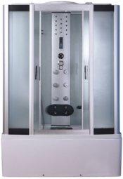 Душевая кабина Erlit Comfort ER4115T-C7 1500х850х2150 мм матовое стекло