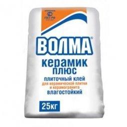 Клеевая смесь Волма Керамик плюс цементная 25кг