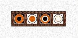 Декор Azori Дефиле Мехико 20,1х40,5
