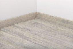 Плинтус Tarkett Шпонированный 80x20 Art White Canvas