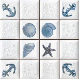 Декор Сокол Моно D-715 MC1 орнамент глянцевый 33х33
