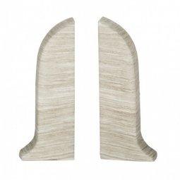 Заглушка торцевая левая и правая (блистер 2 шт.) Salag Клен Патина 56