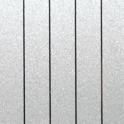Рейка S-профиль металлик серебристый-С02 25*3000