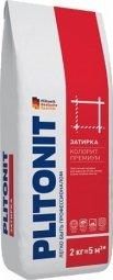 Затирка Plitonit Colorit Premium для швов до 15 мм усиленная армирующими волокнами голубовато-серая 2кг