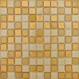 Мозаика Гранит Холл LGDHIK (BLGDHI) 001 золото матовая 30x30