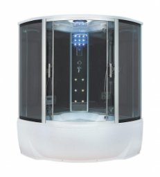 Душевая кабина Erlit Comfort ER4335T-EXC2 1350х1350х2250 мм тонированное стекло