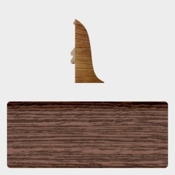 Заглушка торцевая левая (блистер 4 шт.) Т-пласт 068 Темный Венге