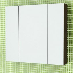 Шкаф-зеркало Comforty Римини-80 венге